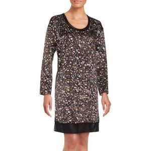 NWT Rag & Bone Silk Long Sleeve Shift Dress